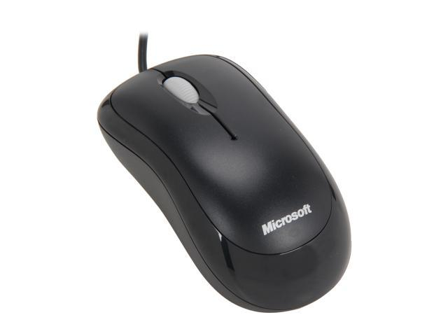 Microsoft 4yh 00005 Black 3 Buttons 1 X Wheel Usb Wired