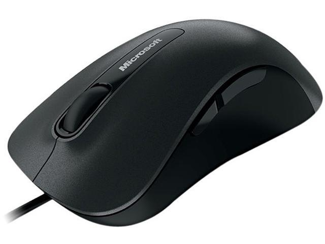 Microsoft Black Wired BlueTrack Mouse