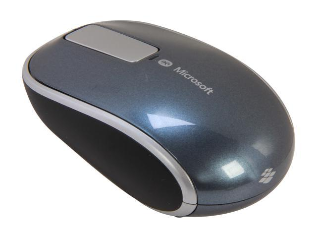 Microsoft L2 Sculpt Touch Mouse 6PL-00003 Gray 3 Buttons Touch Scroll Bluetooth Wireless BlueTrack Mouse
