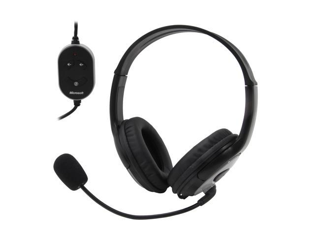 Microsoft L2 LifeChat LX-3000 USB Connector Circumaural Headset