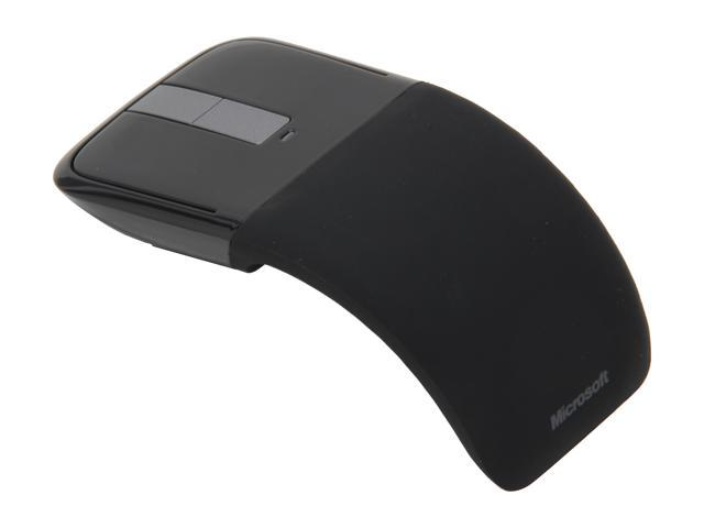 Microsoft PL2 ARC Touch Mouse RVF-00052 Black Touch Scroll BlueTrack Mouse