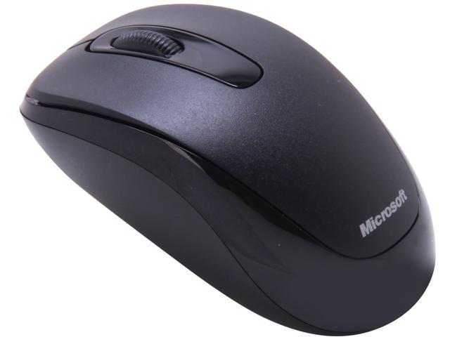 Microsoft Wireless Mobile Mouse 1000 2CF-00021 Black 3 Buttons 1 x Wheel USB RF Wireless Optical Mouse