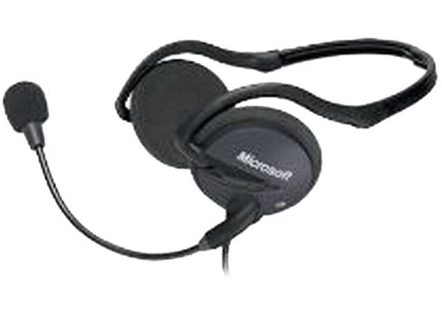 Microsoft LifeChat LX-2000 3.5mm Connector Supra-aural Headset