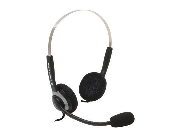SENNHEISER SH250 Quick Disconnect Connector Supra-aural Binaural Telecom Headset