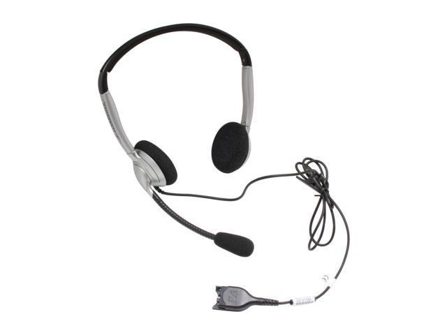 SENNHEISER SH 350 Supra-aural Binaural Headset w/ Noise Cancelling Mic