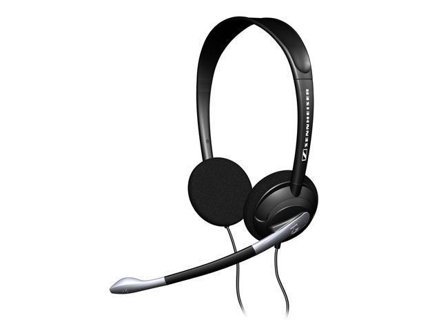 SENNHEISER PC30 2 x 3.5mm Connector Supra-aural Headset