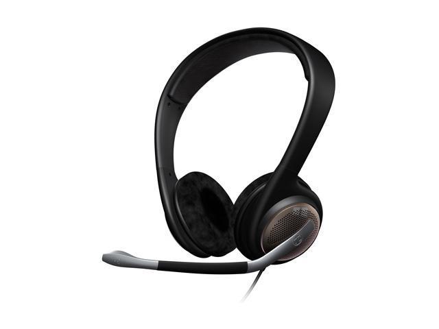 SENNHEISER PC166 USB 3.5mm/ USB Connector Circumaural Headset