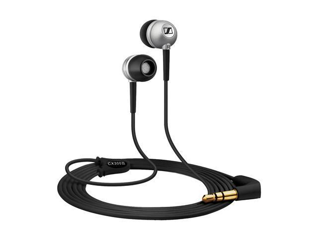 Sennheiser Black CX 300-II Ear-Canal Isolating Stereo Earphone,Black