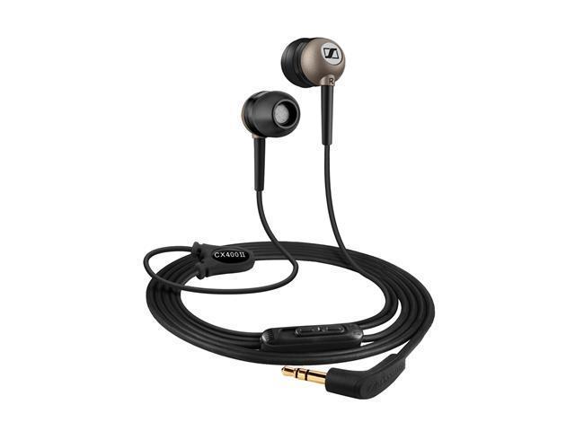 Sennheiser CX 400-II Black Ear-Canal Headphone