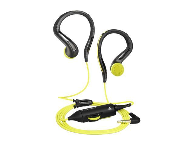 Sennheiser OMX680 3.5mm Connector Earbud Adidas inspired Earclip Sport Headphone
