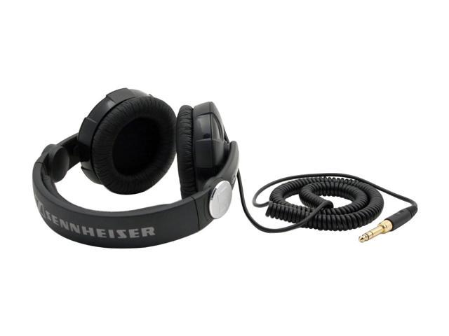 Sennheiser HD215 3.5mm/ 6.3mm Connector Circumaural Dynamic DJ Headphone