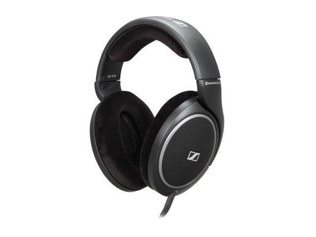 Sennheiser Black HD 558 6.3mm Connector Around Ear Acoustic Headphone