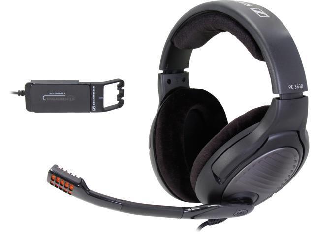 SENNHEISER PC 363D 2 x 3.5mm Connector Circumaural Headset - Black