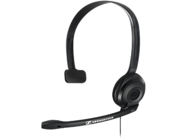 Sennheiser Black PC 2 CHAT 2 x 3.5 mm Connector Headphone/Headset