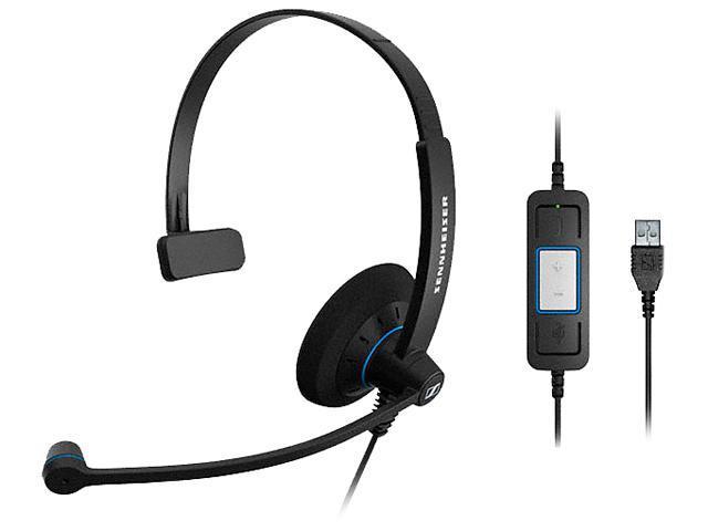 SENNHEISER SC 30 USB CTRL USB Connector Single Ear Headset