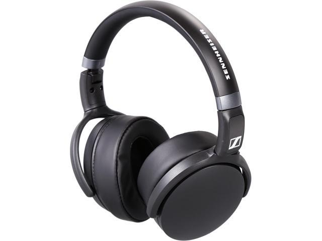 sennheiser 506779 hd over ear headphones with microphone black. Black Bedroom Furniture Sets. Home Design Ideas