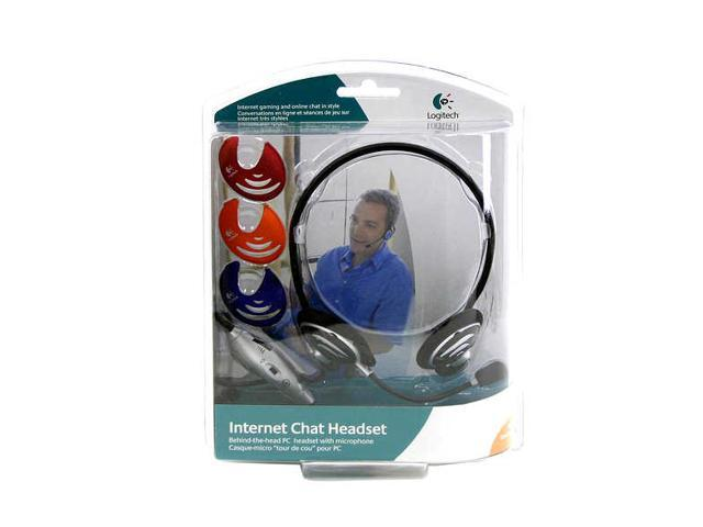 Logitech Internet Chat 3.5mm Connector Supra-aural Headset