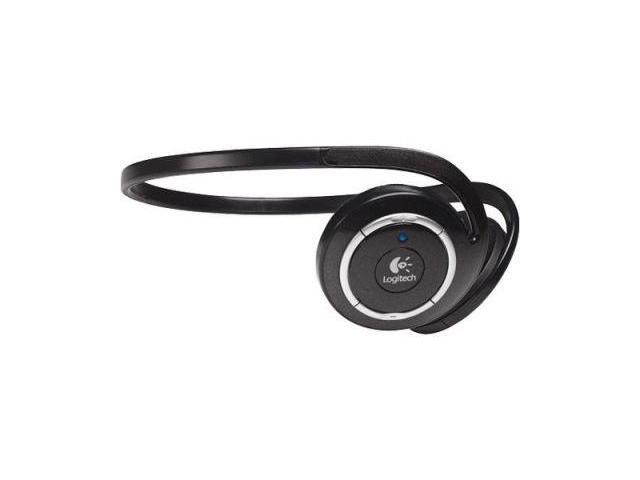 Logitech 980415-0403 3.5mm Connector Supra-aural Wireless Headphones for MP3