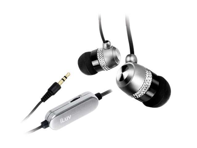 iLuv - In-ear Earphones w/ Volume control (i353) SILVER