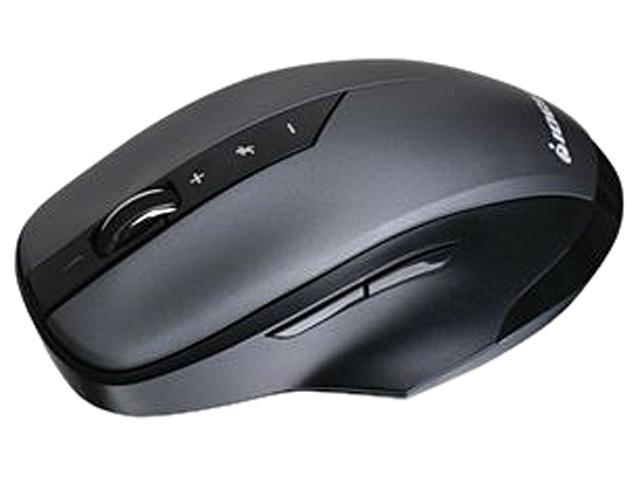 IOGEAR NRG3 GME555R Black 5 Buttons 1 x Wheel RF Wireless 2000 dpi Mouse