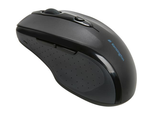 Kensington K72370US Black USB RF Wireless Optical Pro Fit Full Sized Mouse