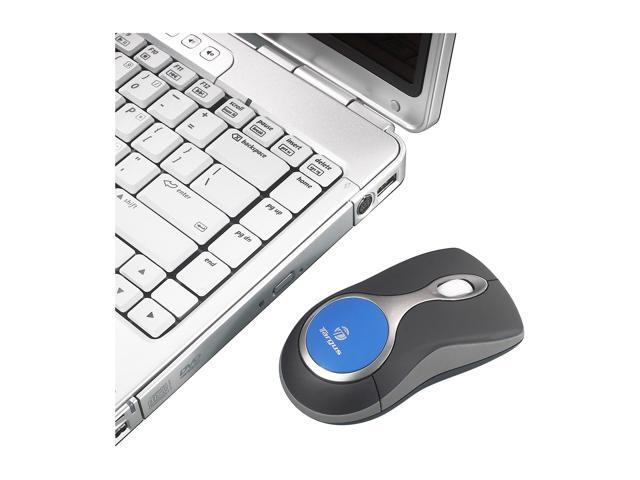 Targus AMB03US Black/Blue 3 Buttons 1 x Wheel USB Bluetooth Wireless Laser Bluetooth Laser Mouse