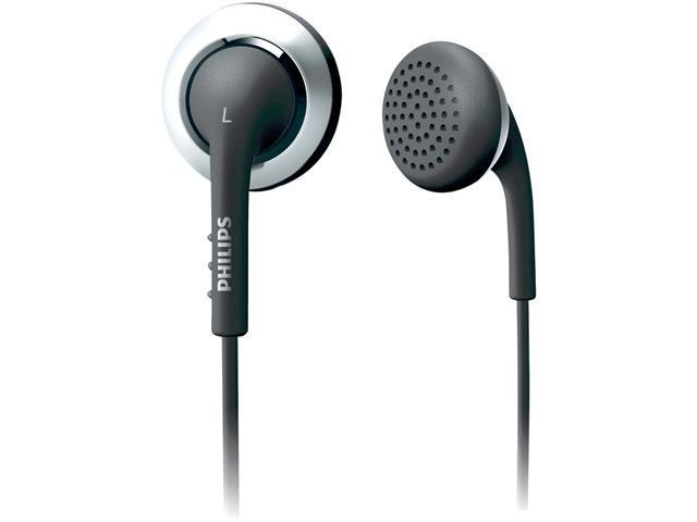 PHILIPS SHE2640/27 3.5mm Connector Earbud Earphone,Black and Blue