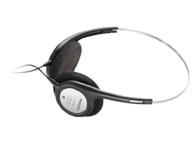 PHILIPS LFH2236/00 Supra-aural Ultra Light Weight Headphone, black