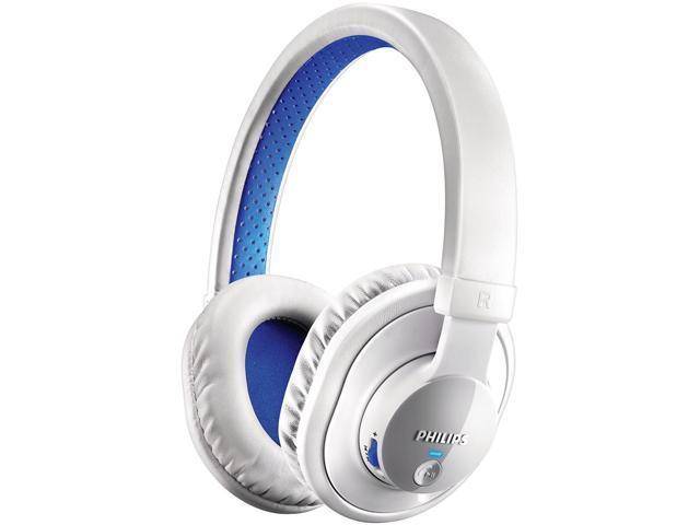 PHILIPS White SHB7000/WT Bluetooth Stereo Headset