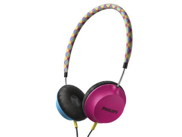 Philips Strada Headband Headphones SHL5100BP (Blue/Pink)
