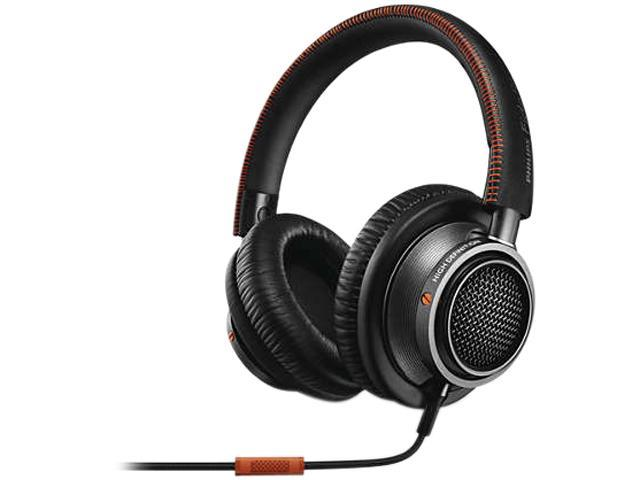 Philips L2BO/27 Fidelio Over-Ear Headphones w/ mic - Black/Orange