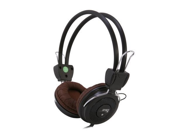 SYBA Spyker Brown CL-AUD63036 3.5mm Connector On-Ear Headphone