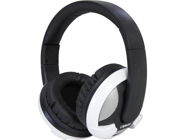 SYBA White OG-AUD23033 Oblanc UFO200BT Bluetooth V2.0+EDR Class 2 A2DP, AVRCP Headphones with Built-in Microphone