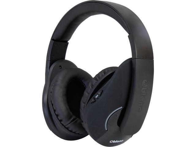 SYBA Black OG-AUD23036 Oblanc SHELL200BT Bluetooth V2.1+EDR Class 2 A2DP, AVRCP Headphones with Built-in Microphone