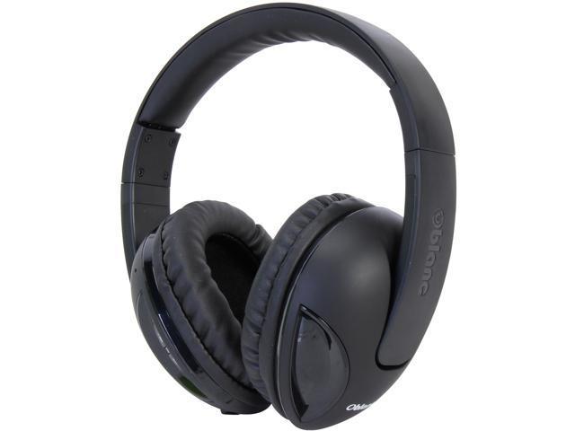 SYBA Black OG-AUD23042 Oblanc COBRA200BT Bluetooth V2.1+EDR Class 2 A2DP, AVRCP Headphones with Built-in Microphone