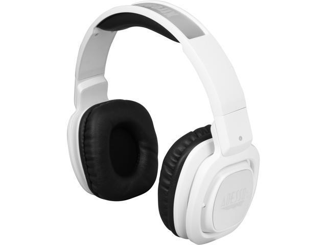 Adesso White Xtream H3W Bluetooth Rotatable DJ Style Headphones