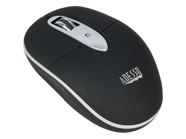 ADESSO iMouse S100 IMOUSES100 Black 3 Buttons 1 x Wheel Bluetooth Wireless Optical Mouse