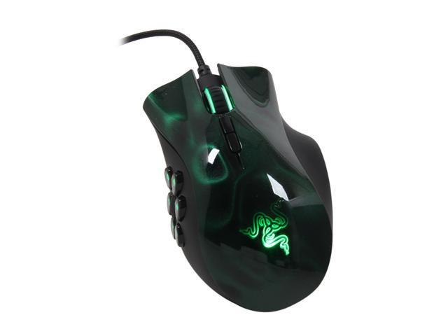 RAZER Naga Hex Wired USB Gaming Mouse - Green