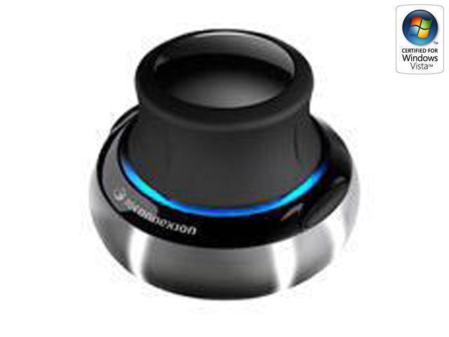 3Dconnexion 3DX-700028 Silver/Black 2 Buttons USB Optical SpaceNavigator SE