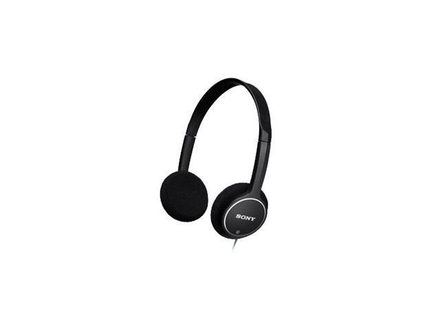 SONY Black MDR-222KD/BLK Supra-aural Lightweight Children's Headphone, Black