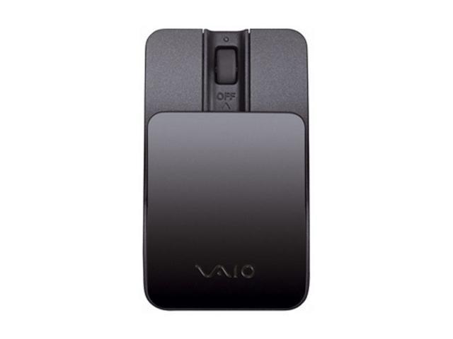 SONY VAIO VGPBMS15/B Black 3 Buttons 1 x Wheel Bluetooth Wireless Laser Mouse