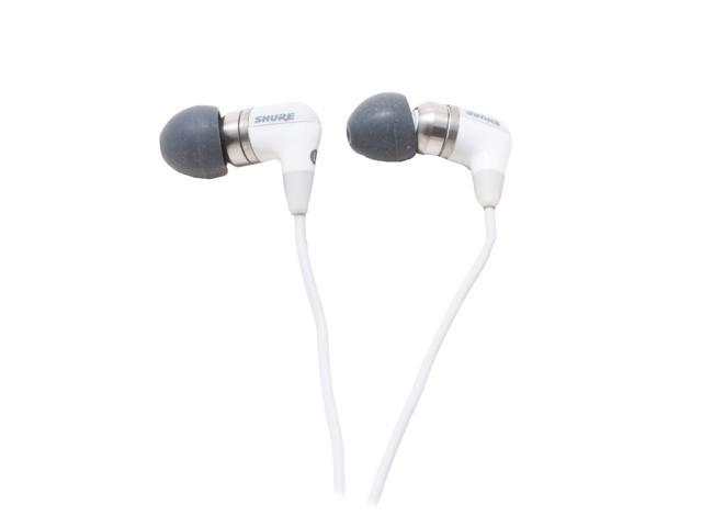 SHURE E4C 3.5 mm Gold-Plated Connector Canal Isolating Earphones