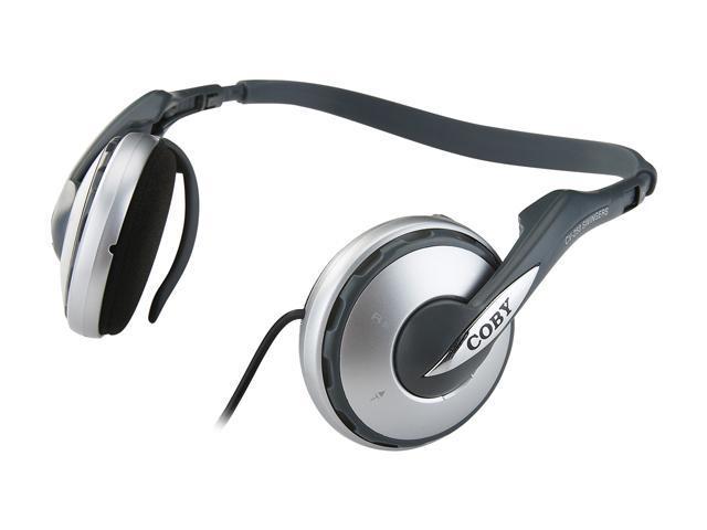 COBY CV-250 Supra-aural Convertible Sports Neckband/Headband Headphones