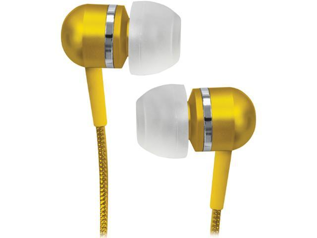 COBY CVEM79RED Gold-plated 3.5mm stereo mini plug Connector Canal High-Performance Isolation Stereo Earphone