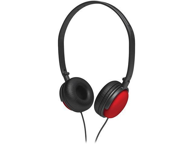 COBY CV140BLK Headphones: Supra-aural / Earphones: Canal 2-in-1 Combo DJ Style Stereo Headphones & Earphones