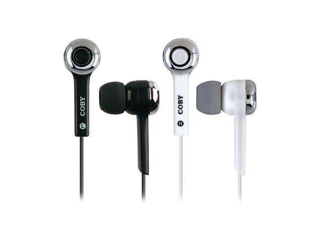 COBY CVE31 3.5mm Connector Earbud Super Bass Digital Stereo Earphone
