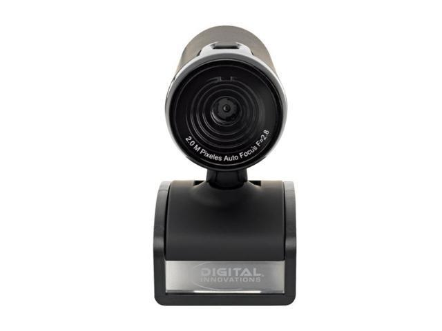 Digital Innovations 4310400 ChatCam Pro 2.0 Megapixel Auto Focus Webcam 2.0 M Effective Pixels USB 2.0 Webcam