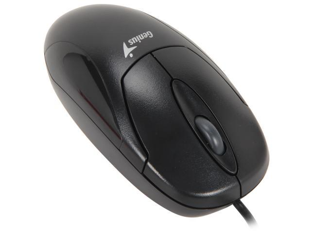 Genius XScroll Black 1 x Wheel USB Wired Optical Mouse