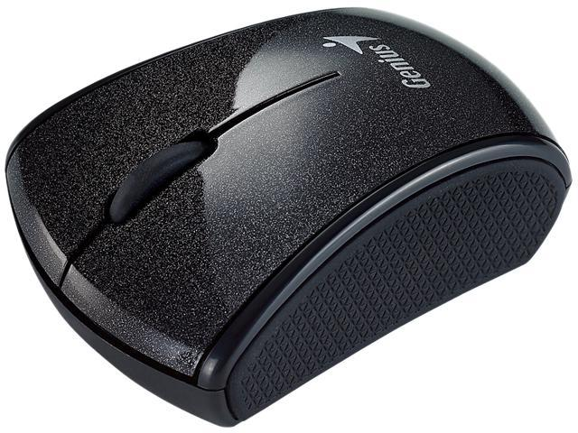 Genius 31030042109 Black Wireless Micro Traveler Mouse