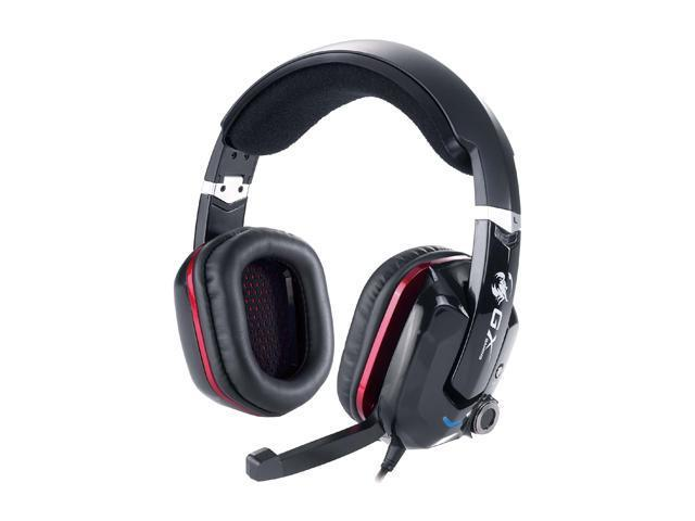 Genius Cavimanus HS-G700V USB Connector Circumaural Virtual 7.1 Channel Gaming Headset